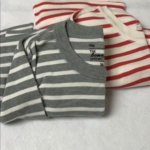 Two (2) GAP The Bowery Super Soft Long Sleeve Tops